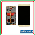 DISPLAY LCD TOUCH SCREEN + FRAME HUAWEI ASCEND MATE 8 COLORE GOLD