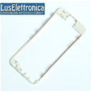 FRAME CORNICE TELAIO VETRO LCD IPHONE 5S TOUCH SCREEN COLORE BIANCO
