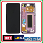 DISPLAY LCD ORIGINALE SAMSUNG S9  G960F S9 ORO GOLD SERVICE PACK