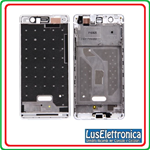 FRAME CENTRALE HUAWEI ASCEND P9 LITE CHASSIS LCD TELAIO CENTRALE BIANCO WHITE