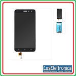 LCD DISPLAY ASSEMBLATO ASUS ZENFONE 3 ZE552KL COLORE NERO BLACK