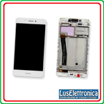 DISPLAY LCD + TOUCH SCREEN COMPLETO HUAWEI NOVA SMART DIG-L01 BIANCO WHITE + FRAME