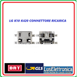 CONNETTORE RICARICA DOCK CONNECTOR MICRO USB  LG K10 K420 K428
