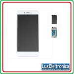 LCD TOUCH SCREEN DISPLAY HUAWEI P10 LITE DIGITIZER CON FRAME BIANCO WHITE