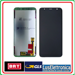 DISPLAY LCD SAMSUNG J415 J4+ J610 J6+ PLUS COLORE NERO GH97-22582A SERVICE PACK