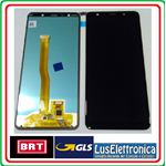 DISPLAY LCD ORIGINALE SAMSUNG A750F A750 GALAXY A7 2018 COLORE NERO
