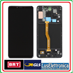 DISPLAY LCD ORIGINALE SAMSUNG A920F A920 GALAXY A9 2018 COLORE NERO