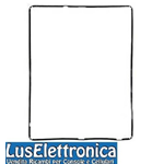 FRAME IN PLASTICA CORNICE PER APPLE IPAD 2 E IPAD 3 NERO GUARNIZIONE TOUCH SCREEN