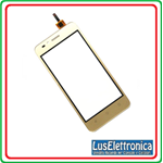 VETRO TOUCH SCREEN HUAWEI Y3 2 II VERSIONE 4G COLORE  GOLD