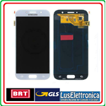 DISPLAY LCD + TOUCH SCREEN ORIGINALE SAMSUNG GALAXY A5 2017 A520F SM-A520F BLUE GH97-19733C