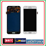 DISPLAY LCD +TOUCH SCREEN ORIGINALE SAMSUNG GALAXY J5 SM-J500F COLORE BIANCO ORIGINALE