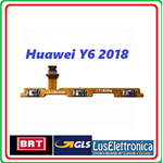 FLAT TASTO ACCENSIONE POWER ON OFF VOLUME HUAWEI Y6 2018 ATU-L11