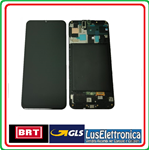 LCD DISPLAY ORIGINALE SAMSUNG A50 SM-A505 COORE NERO BLACK