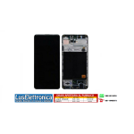 DISPLAY LCD SERVICE PACK SAMSUNG A51 SM-A515 F COLORE NERO