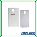 BACK COVER SAMSUNG GALAXY NOTE 4 SM-N910F BACK TAPPO COLORE BIANCO N910