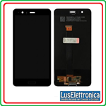 TOUCH SCREEN VETRO  LCD DISPLAY PER HUAWEI P10+ P10 PLUS VKY-L09 NERO + FRAME
