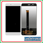 TOUCH SCREEN VETRO  LCD DISPLAY PER HUAWEI CON FRAME P10+ P10 PLUS VKY-L09 BIANCO