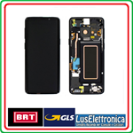 DISPLAY LCD ORIGINALE SAMSUNG S9  G960F S9 NERO BLACK SERVICE PACK GH97-21696A GH9721697A